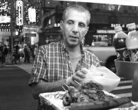 NYC hotdog by photographer miyuki edwards