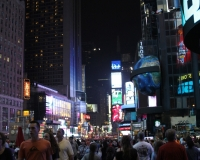 Times Square NYC by photographer miyuki edwards