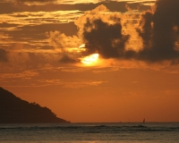 Hawaiian sunrise by photographer miyuki edwards