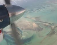 Bahamas from air photographer miyuki edwards