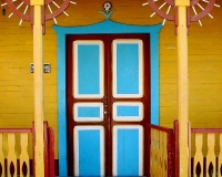 miyuki edwards photograph of colorful entrance