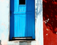 miyuki edwards photograph of colorful doorway